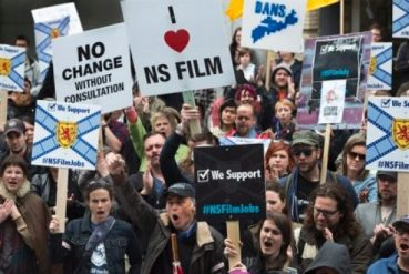 film tax protest