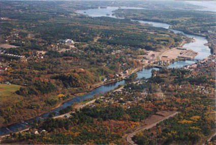 bridgewater-nova-scotia-aerial-view